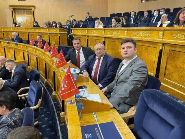 4 октября состоялось первое заседание депутатов Законодательного собрания ЛО седьмого созыва | КПРФ